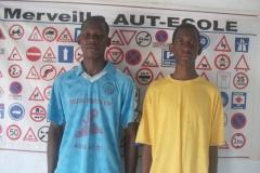 Aldomouma Iliassa og Adamou Ibrihim fik kørekort i 2011