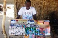 Cheik Amadou Tidane Dissa åbnede en lille butik i 2012