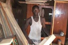 Nouhoun Amadou blev uddannet snedker i 2014