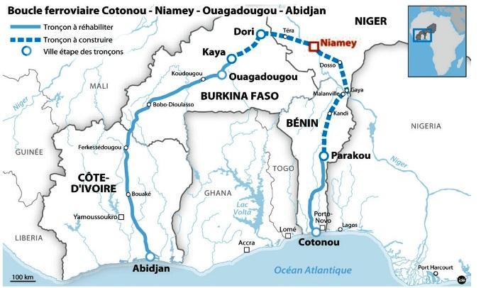 Togforbindelsen i Vestafrika