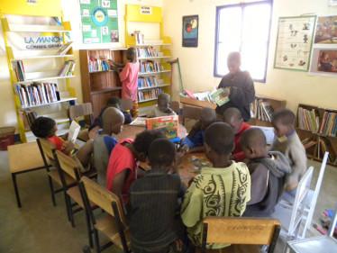 Biblioteket i Gorom-Gorom
