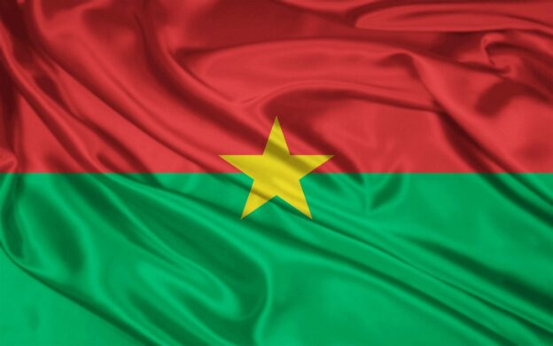 Burkina Faso flag - Flick Nadesha