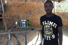 Hamadou Idrissa blev uddannet svejser i 2016