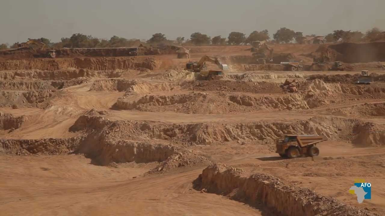 Foto fra SEMAFOs video om miner i Burkina Faso